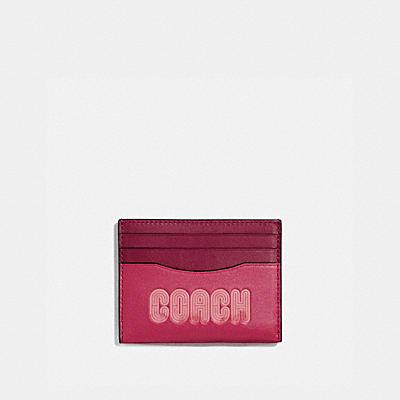 COACH 印花卡夾