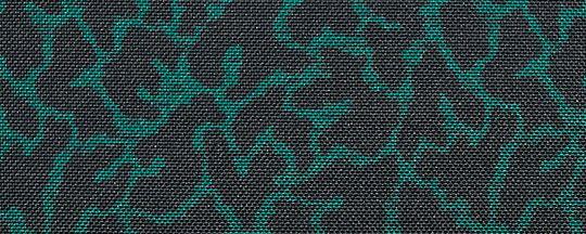 JI/綠色動物波紋