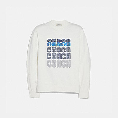 Coach Embroidered Sweatshirt