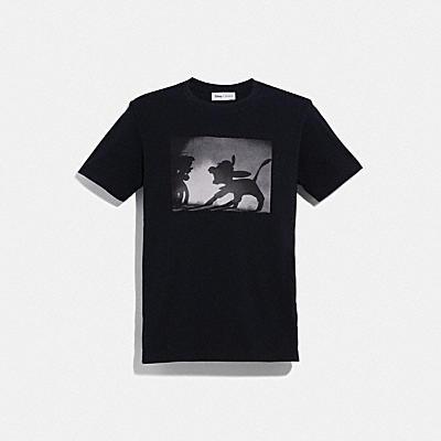 디즈니 X 코치 디즈니 프린트 티셔츠