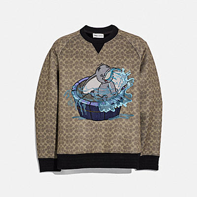 Disney X Coach Signature Sweatshirt