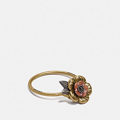 茶香玫瑰鑰匙圈手袋掛飾