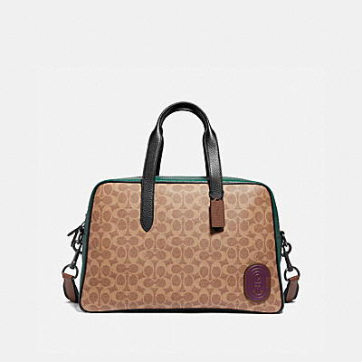Signature Metropolitan Soft Carryall with Coach Patch