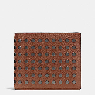 3-IN-1 WALLET WITH STUDS