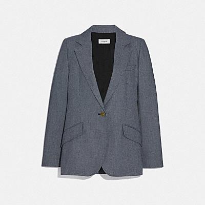寬鬆版型西裝外套