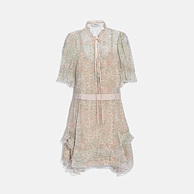 多層次連衣裙