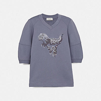 REXY BY ZHU JINGYI SHORT SLEEVE SWEATSHIRT