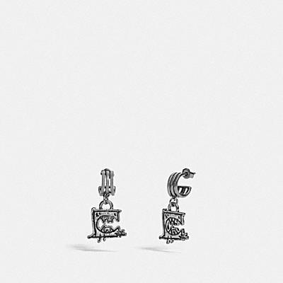 トリプル フープ ピアス BY GUANG YU