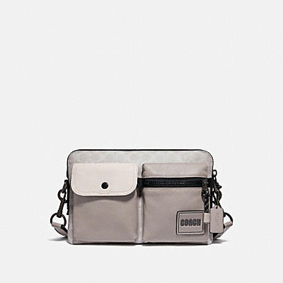 PACER MODULAR CROSSBODY IN SIGNATURE CANVAS WITH COACH PATCH