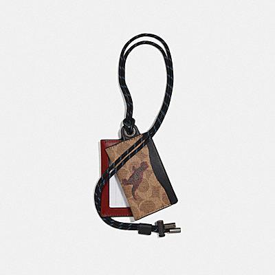 SIGNATURE 經典帆布 REXY 掛繩證件夾,隋建國設計