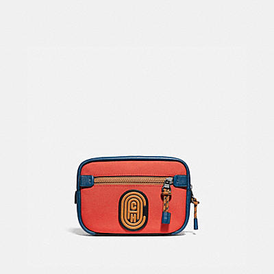 ACADEMY L-PACK IN COLORBLOCK WITH COACH PATCH
