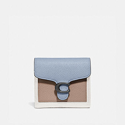 TABBY SMALL WALLET IN COLORBLOCK