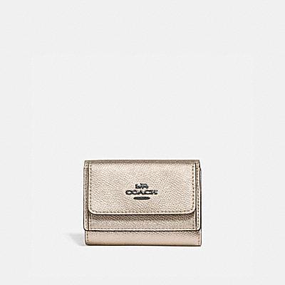 コーチ COACHの人気財布&革小物 |ミニ トライフォールド ウォレット