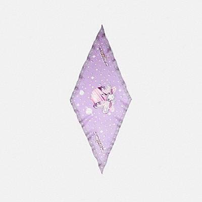 【COACH X 水原 希子】KIKO シルク ダイヤモンド スカーフ