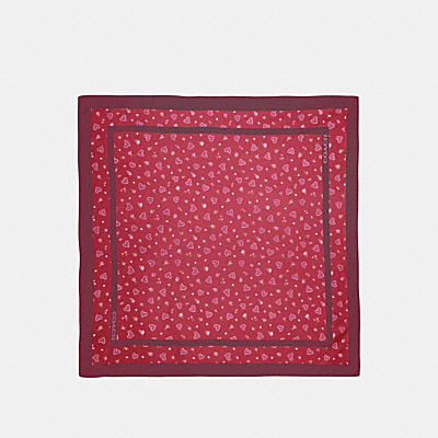 CHINESE VALENTINE'S DAY SILK SQUARE SCARF