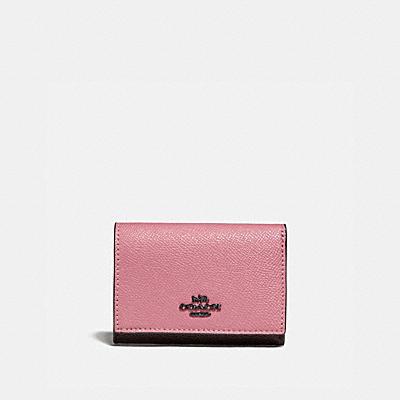 コーチ COACHの二つ折り財布&ミニ財布 |スモール フラップ ウォレット カラーブロック