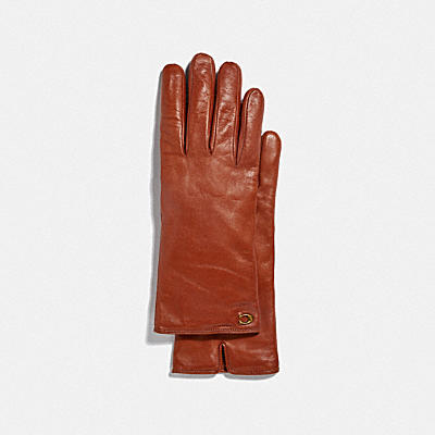 SIGNATURE皮革雕刻觸控手套