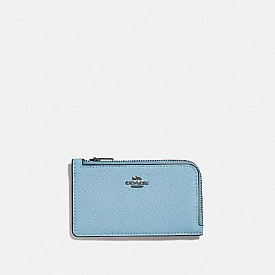 コーチ COACHの全ての財布&革小物 |スモール Lジップ カード ケース