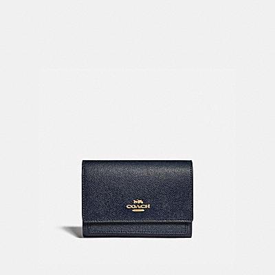 コーチ COACHの二つ折り財布&ミニ財布 |ミディアム フラップ ウォレット