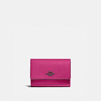 コーチ COACHの財布&革小物 |ミディアム フラップ ウォレット