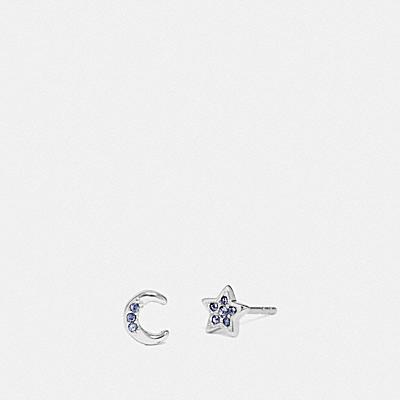 經典SIGNATURE月星飾釘耳環