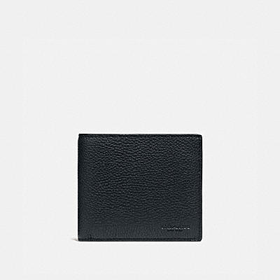 3-IN-1 WALLET WITH SIGNATURE CANVAS BLOCKING