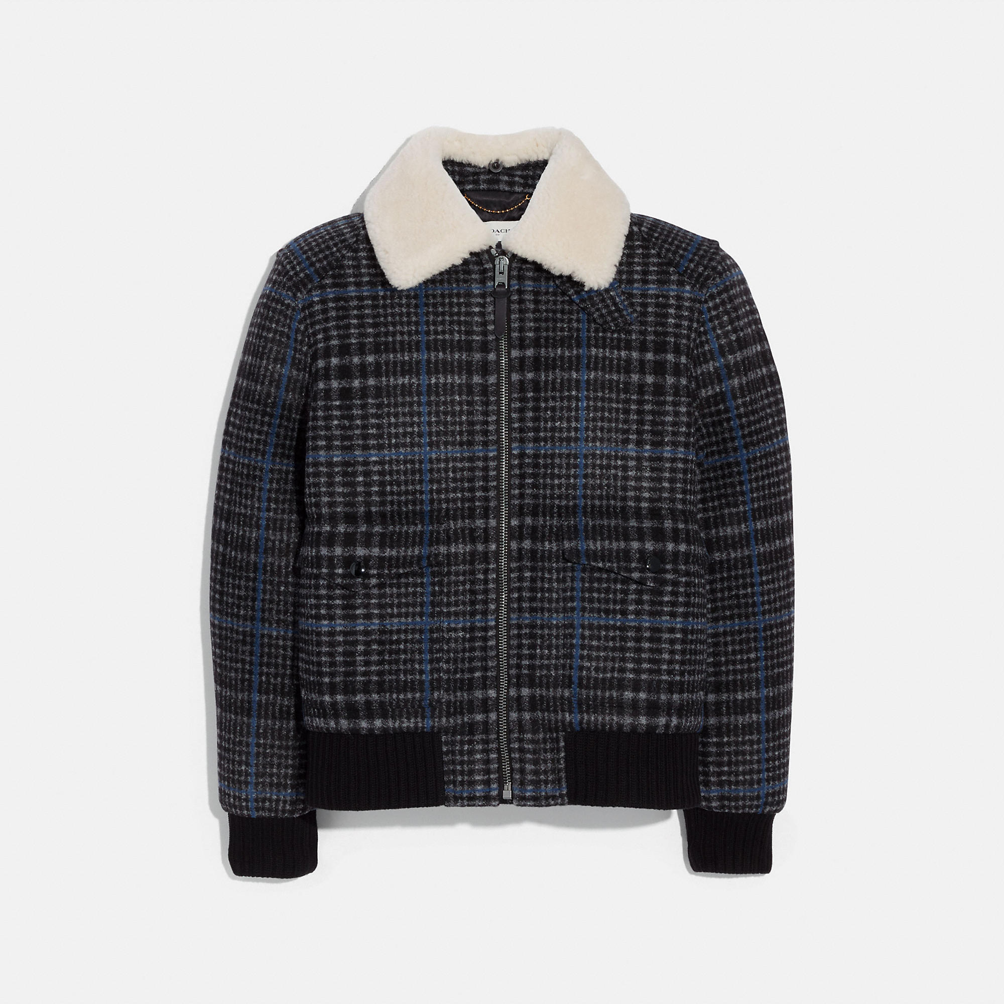 2dd3a9f8 COACH Official Site Official page SHEARLING BOMBER JACKET