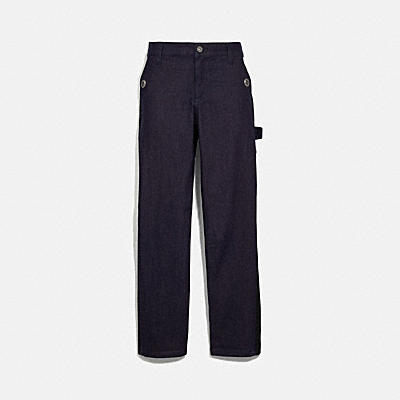 DENIM CARPENTER PANTS