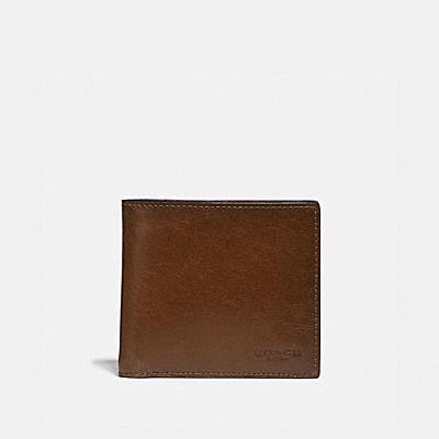hot sale online 006e6 f5aa0 公式】COACH - コーチ | 二つ折り財布 | メンズ