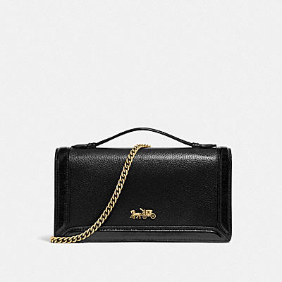 RILEY CHAIN CLUTCH IN COLORBLOCK