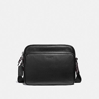 METROPOLITAN SOFT ZIPPED MESSENGER