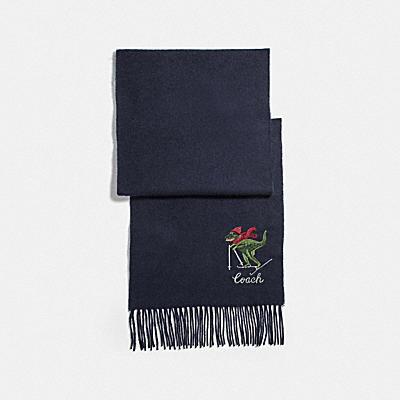 REXY刺繡圍巾
