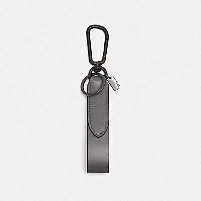 LOOP KEY FOB WITH COACH PRINT