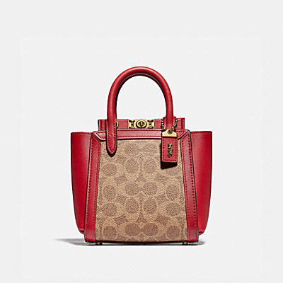 TROUPE TOTE 16 IN SIGNATURE CANVAS