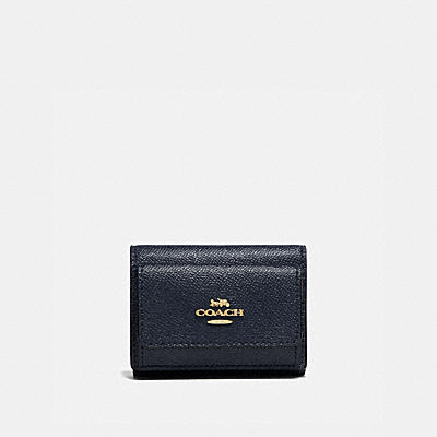 コーチ COACHの二つ折り財布&ミニ財布 |ミニ トライフォールド ウォレット