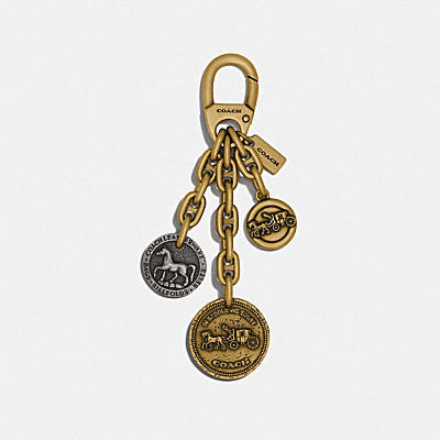 COACH ICON COIN MIX BAG CHARM