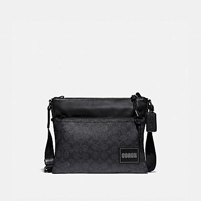 PACER CROSSBODY IN SIGNATURE CANVAS WITH COACH PATCH