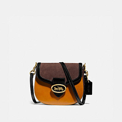 KAT SADDLE BAG 20 IN COLORBLOCK