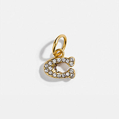 COLLECTIBLE PAVE SIGNATURE CHARM
