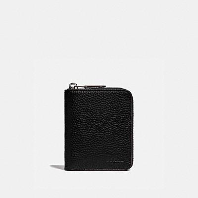 コーチ COACHの全ての財布&革小物 |ジップ アラウンド コイン ウォレット