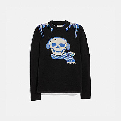 BONESY CREW NECK SWEATER