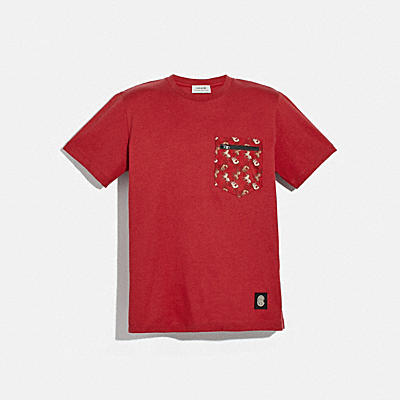 LUNAR NEW YEAR NYLON DETAIL T-SHIRT