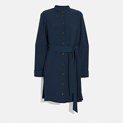 HERITAGE PLEAT SHIRT DRESS