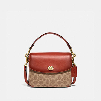 CASSIE CROSSBODY 19 IN SIGNATURE CANVAS