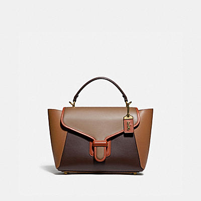 COURIER CARRYALL IN COLORBLOCK