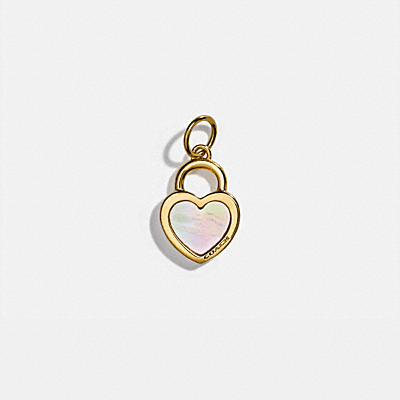 COLLECTIBLE PEARL HEART CHARM