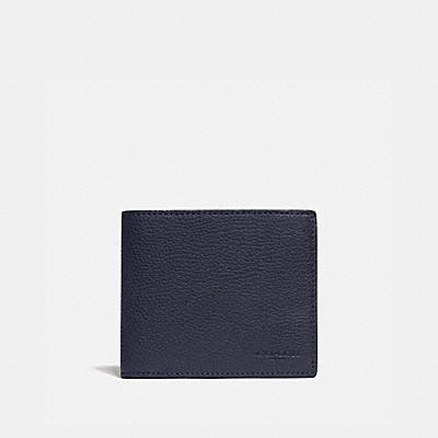 3-IN-1 WALLET WITH SIGNATURE CANVAS DETAIL