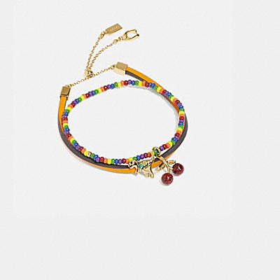 RAINBOW CHARM FRIENDSHIP BRACELET SET