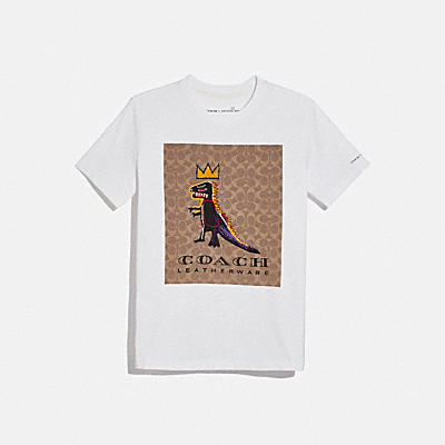 COACH X JEAN-MICHEL BASQUIAT SIGNATURE 經典 T-SHIRT