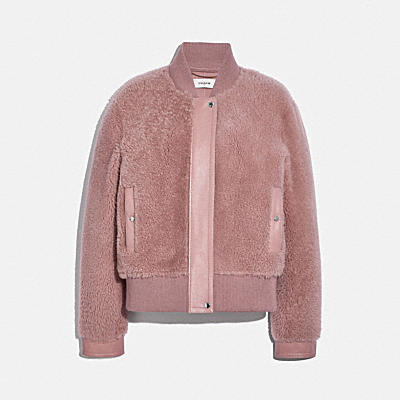 SHORT HAIR SHEARLING BLOUSON